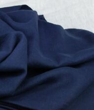 3 meters Navy Irish pure linen fabric,material ideal for coats,suits 150cm wide