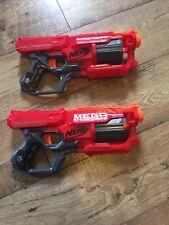 Lot of 2 - NERF Mega Cycloneshock Dart Blaster Gun.