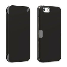 iPhone 5 5S SE Puregear Credit Card Folio Case W/ Convertible Kickstand Black
