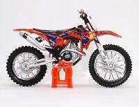 Ryan Dungey's 2014 KTM 450 SX-F Supercross Red Bull Bike 1:18 Scale Model Toy