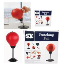 Mini Desktop Punching Bag Ball With Stand Punch Stress Buster Ball