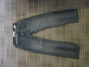 Levi's 505 REGULAR-LADIES JEANS denim trousers SIZE 6-8 STRAIGHT SLIM MID RISE