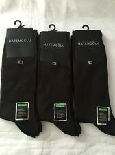 Bamboo Mens Socks Brown Navy Pack of 6 Pairs Natural Socks HATEMOGLU Socks