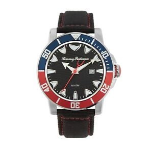 Tommy Bahama Shark Bay Men's Quartz Date Indicator 45mm Watch 279473SLV040