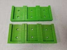 6 Pack 3D PRINTED BATTERY HOLDER MOUNT MADE FOR RYOBI 40V BATTERY GREEN