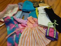 Bulk Vintage Barbie Clothes.(A-103)
