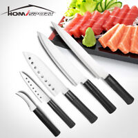 5PC Japanese Style Kitchen Knife Set Stainless Steel Non-stick Cutlery Set