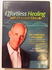 Effortless Healing By Dr Joseph Mercola - Complete Program RARE - Public TV DVD