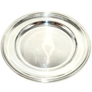 "Christofle Silverplate ALBI Round Serving Platter, 15 3/4"" Across"