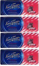 FAZER Peppermint Crisps in Milk Chocolate Marianne Bar 4 x 200g (4 pcs)