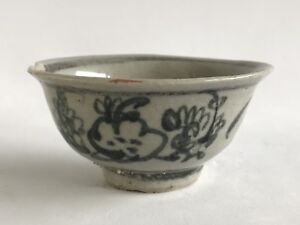 China Ming Dynasty Three Friends in Winter Chenghua Tea Cup 15th Century Period