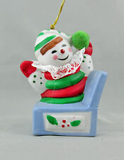 Ring A Ling Jack In Box Porcelain Bell Christmas Holiday Ornament Boxed 1987