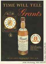 GRANT'S BLENDED SCOTCH WHISKEY 1955 VINTAGE MAGAZINE AD  INV#181