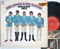 Paul Revere & The Raiders GREATEST HITS lp Columbia 2-eye KCL 2662 booklet MONO