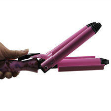 Hot 3 Barrel Hair Styling Curling Curler Iron Roller Tool Machine Ceramic Waver