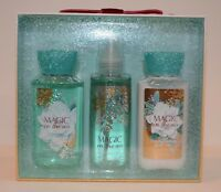Bath & Body Works Magic In The Air 3p travel Gift Set Body Wash Mist Lotion NEW