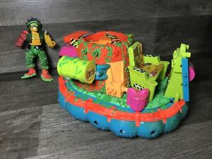 VTG Toxic Crusaders Hideous Hovercraft Cruiser Playmates Troma 1991