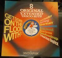 """8 Extended Mixes Various Vinyl Album Funk Soul Disco Double LP Record 70s 12"""""""