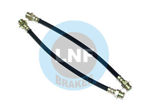 PLYMOUTH DUSTER SCAMP 340 VALIANT BRAKE HOSE FRONT X2 70 71 72 1970 1971 1972