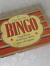 Vintage Gold Medal bingo game