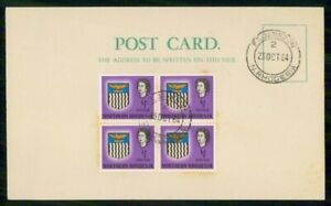 Mayfairstamps NORTHERN RHODESIA EVENT 1964 CARD FORT JAMESON LAST DAY CANCEL wwi