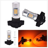 High Power 21-SMD PY24W  LED Bulbs Front Turn Signal Lights12V DC For   BMW