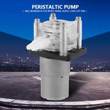 DC 12V Peristaltic High Flow Water Pump Tube Vacuum for Aquarium Lab New