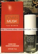 COTY Women's JOVAN MUSK Cologne Spray .375 fl oz GIFT BOXED! STOCKING STUFFER!