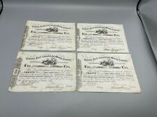 More details for carsons creek consolidated mining company certificates x 4