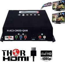 Thor H-AC3-CMOD-QAM 1-Channel Compact HDMI to QAM Encoder Modulator with Dolby A