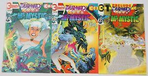 Ms. Mystic: Deathwatch 2000 #1-3 VF/NM complete series NEAL ADAMS bad girl set 2