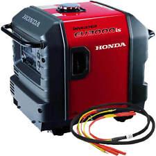 Honda EU3000 Inverter Generator with Parallel Cables Kit (Single Generator)