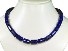 Gorgeous Lapislazuli Chains in Cylindrical Shape d-10x15 mm
