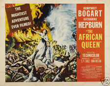 The African queen Humphrey Bogart movie poster print