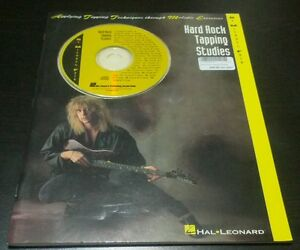 HARD ROCK TAPPING STUDIES BOOK SHEET MUSIC + CD BY MICHAEL FATH