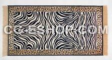 tappeto zebra zebrato camera salotto soggiorno ingresso 70x110 BLU