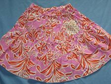 Icky Baby Flower Blossom Pink Twirl Skirt 3T Girl Floral Pink Orange Girl Toddle
