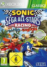 XBOX 360 gioco Sonic & Sega All-Stars Racing NUOVO & OVP