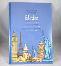 Malbuch für Erwachsene  45 Vorlagen  Steden/ Städte