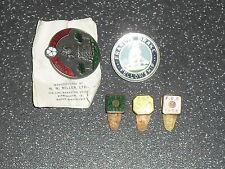 Old Enamel Bowls Bowling Pin Badges