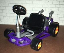 Mario Kart 64 Wario Purple Car Video Game Superstars 1999 Toybiz