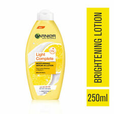 Garnier Light Complete Moisturising Serum Lotion 250ml Lemon Essence + Vitamin C