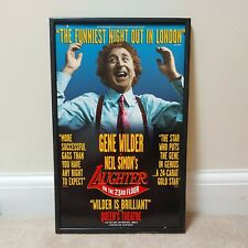More details for gene wilder in neil simon's laughter on the 23rd floor theatre poster on board.