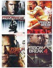 PRISON BREAK - STAGIONE 1,2,3 E 4 (23 DVD)- COFANETTI SINGOLI,ITALIANI, NUOVI