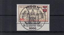 5997 ) Germany Berlin 1982 - 750 years of the city Spandau fantastic full stamp