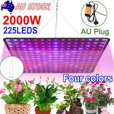 2000W 225 LED Grow Light Hydroponic Kits Growing Lamp Plant Veg Flower Indoor AU