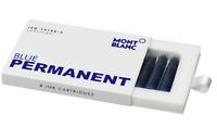 Montblanc Tintenpatronen, Permanent blau 8er