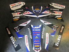 Yamaha YZ125 YZ250 2006-2014 Team JGR Racing graphics kit + plastic set GR1001