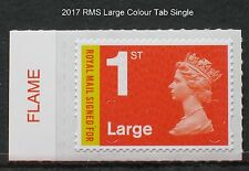 2017 M17L - 1st LARGE SIGNED FOR - Counter Sheet COLOUR TAB single