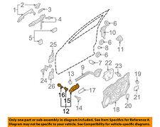 MAZDA OEM 12-13 3-Interior Inside Door Handle Right BBM558330C02